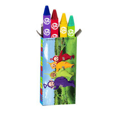 4 x Packs Teletubbies Crayons Childrens Party Favours Loot Fillers Party Prizes