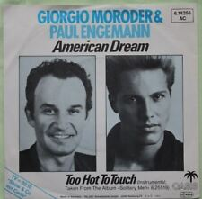 "Giorgio Moroder &  Paul Engemann  – American Dream     >7"" Vinyl Single 1984"