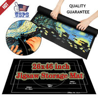 Felt Jigsaw Storage Mat Puzzle Roll Up Puzzle Storage Up To 1500 Pieces Game TBN