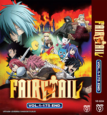 DVD ANIME FAIRY TAIL Complete Series Vol.1-175 End English Subs + FREE DVD