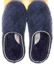 Dearfoams Peacoat Women's Slippers Memory Foam Dark Blue Size Small (5-6) New