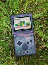 Nintendo Gameboy Advance GBA SP IPS v2 screen Backlit Mod Atomic Purple