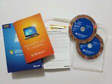 Microsoft Windows 7 Professional Upgrade Version Genuine with 32 & 64 Bit Disc's