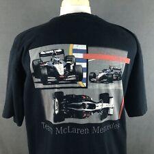 Team McLaren Mercades Benz #6 Formula 1 Car Racing T-Shirt Large Kimi Raikkonen