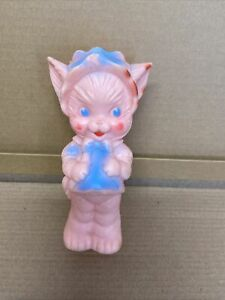 Ruth E Newton The Sun Rubber Co. Cat Rubber Squeaky Baby Toy