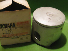 YAMAHA YZ125 1986-88 YAMAHA PISTON 0.75 MM OVER SIZE OEM # 1LX-11637-00