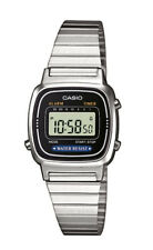 Casio Collection Damenuhr LA670WEA-1EF Digital Silber