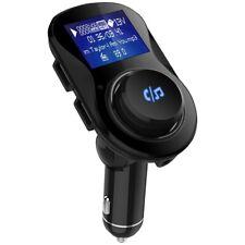 BluetoothWireless Fm TransmitterHandsfree Car KitDual Usb Charging Ports