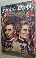 Avalon Hill For the People Civil War Game 1998 UNPUNCHED Complete