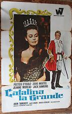 Used - Cartel de Cine  CATALINA LA GRANDE  Vintage Movie Film Poster - Usado