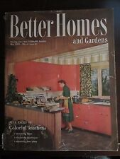 Better Homes & Garden Magazine May 1951 Colorful Kitchens (E)