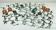 Medieval Plastic Knights Men Battle Bundle Canons Horse Catapults Mixed