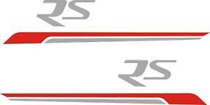Triumph Speed Street triple RS stripes vinyl stickers