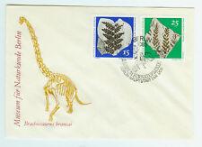 DDR FDC Ersttagsbrief 1973 Paläontologische Sammlungen  Mi.Nr. 1823 und 1825
