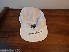 K SWISS HAT MADE IN USA HAND SIGNED BY IVAN LENDL INTERNATIONAL SALE