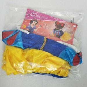 Disney Snow White Princess Pet Dog Costume Dress Size L - Brand New RUBIES