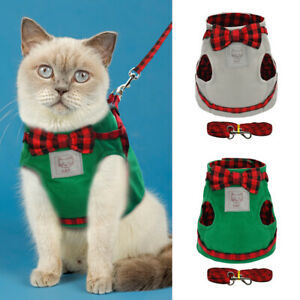 Cotton Pet Cat Vest Clothes Small Dogs Chihuahua Coat Jacket Dog Walking Harness
