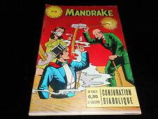 Les mondes mystérieux Mandrake 21 Editions des remparts octobre 1963
