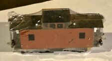 TT Scale built-up Caboose kit, prob. HP, with brass HP trucks & couplers