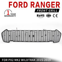 Front Grill Insert For FORD Ranger PX2 MK2 WILDTRAK 2015-2019 Models Black