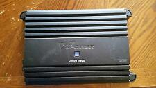 ALPINE MRP-M1000 MONO SUBWOOFER CAR AMPLIFIER 1000 WATT AMP