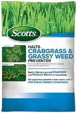 (2) Scotts Halts Crabgrass & And Grassy Weed Preventer Pre Emergent - 49900