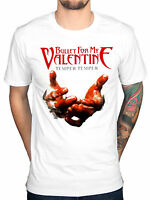 Official Bullet For My Valentine Temper Temper Blood Hands T-Shirt Band Merch