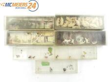 E47Z261s Preiser Merten H0 Figuren Tiere Schweine Hühner Hunde Ziegen ca. 85 Stk