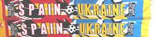 Spanien - Ukraine Fanschal Schal Fussball Football scarf Leipzig WM06 #43