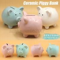 Toy Kids Gift Coin Money Save Openable Box Pig Cash Tin Piggy Bank Plasti