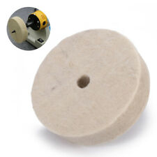 3'' Felt Polishing Buffing Grind Round Wheel Wool Polisher Disc Pad 10x80x22mm