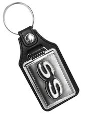 Chevrolet Super Sport SS Emblem Faux Leather Key Ring