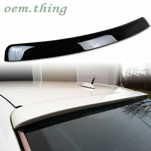 PAINTED Fit FOR Mercedes benz E class W210 L Type Roof Spoiler E300 E320 95 #040