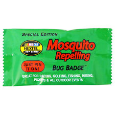 Lot of 24 Pieces - Nascar Mosquito Repelling Bug Badges