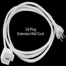 6Ft US Plug Extension Power Cord Cable for 13' 15' 17' Apple Macbook Charger