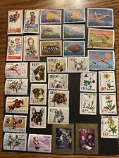 Poland Stamps 1960's 47 Different Dogs Fish Olympics Flowers