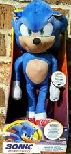 Sonic The Hedgehog 13 Inch Talking Plush Brand New Fast Shipping