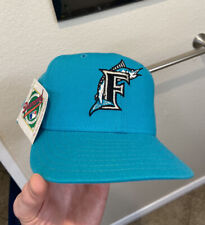 Vintage Florida Marlins New Era Pro Model Hat 5950 Diamond Collection 7 1/8 NWT