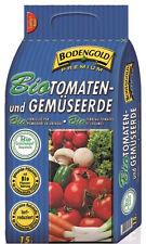 Bodengold Bio Tomaten u. Gemüse Erde Premium 15 Liter