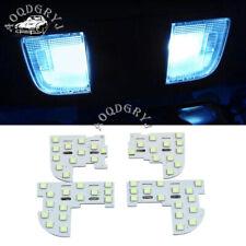 4pcs ice blue Internal LED reading light fit For Honda Accord 2008-2012