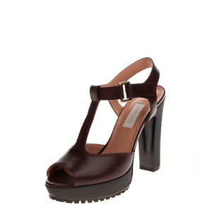 RRP €230 L'AUTRE CHOSE T-Bar Sandals Size 40 UK 7 US 10 Lug Sole Made in Italy