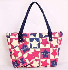 Red Stars Handbags Canvas Shoulder Bags Tote Bag bolsos mujer de marca