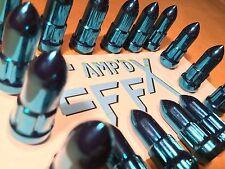 15-17 POLARIS RZR 900 & S - BLUE SPIKE LUG NUTS- STEEL complete 16 pack set