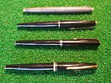 Vintage Parker Arrow Fountain Pen & Other Pens Lot Of 4