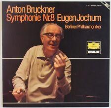 BRUCKNER: Symphony 8 JOCHUM DGG Ger ORIG2726 077 2x LP NM Super