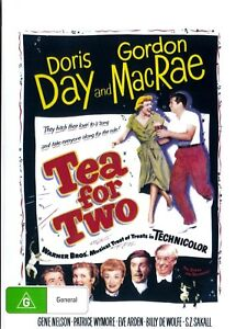 Tea For Two -  Doris Day New and Sealed DVD
