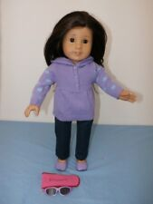 American Girl Doll Truly Me JLY #30 + Outfit Retired Jess Mold Brunette Brown