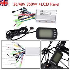 36V/48V 350W Brushless Speed Controller Scooter E-bike Electric Motor LCD Panel