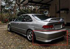 Civic Coupe Si VTI Rear Lip (abs) for Honda Civic Ek 99-00 2 dr.  ABS