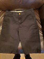 Boys black Volcom shorts size 25/10Y